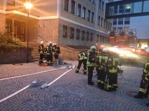 Feuerwehrübung – Donnerstag 05.09.2019 – in Bad Kissingen