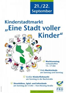 Kinderstadtmarkt am 22.09.2019