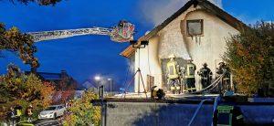 Wohnhausbrand am 24.10.2020 in Nüdlingen