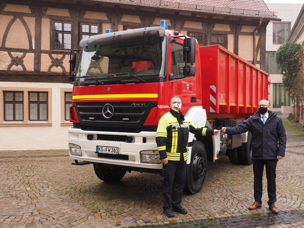 Fahrzeugübergabe Florian Bad Kissingen 36/1