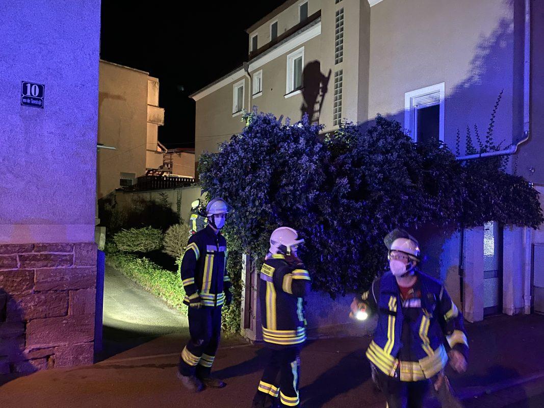 Read more about the article Feuerwehrübung im Stadtgebiet